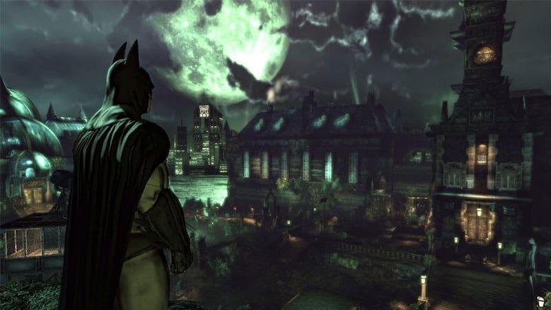 Batman: Arkham Asylum Free Roam