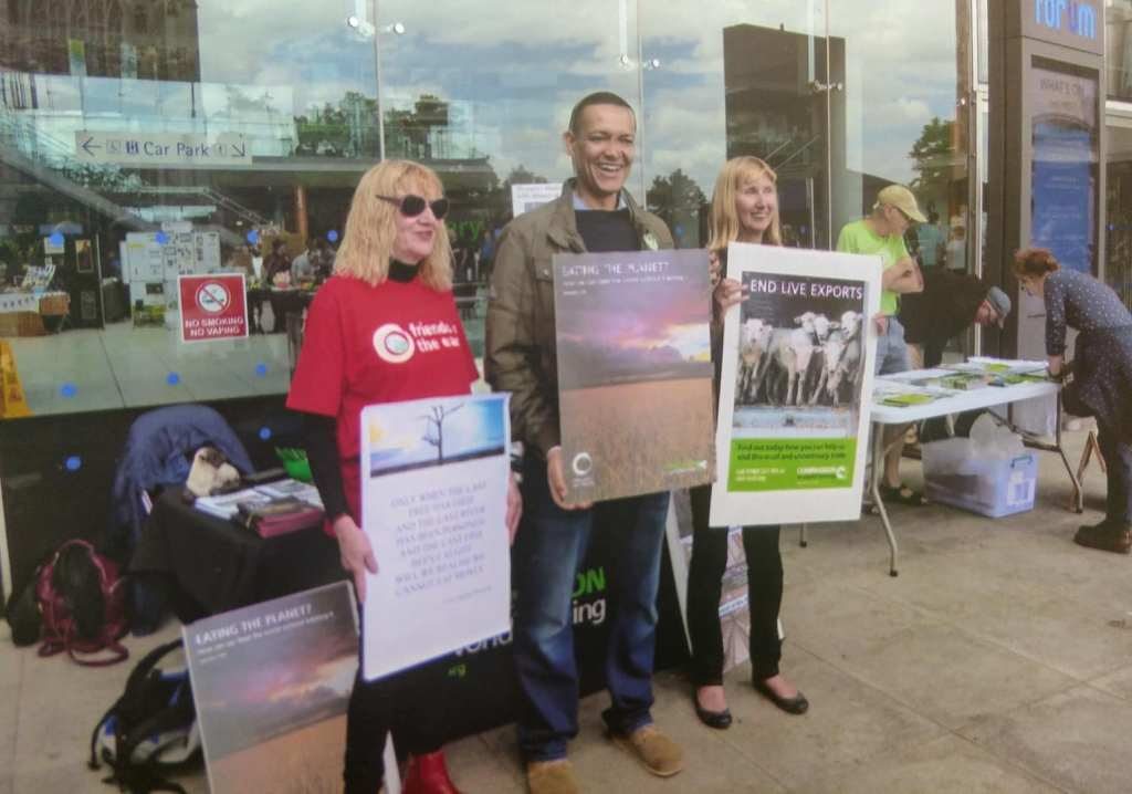 Stop Live Transport Day of Action Norfolk UK