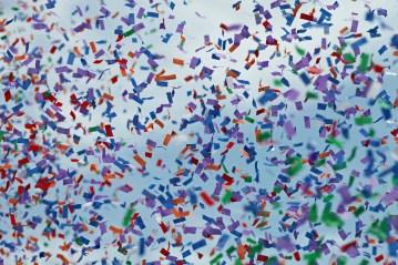 Rainbow Pride Confetti