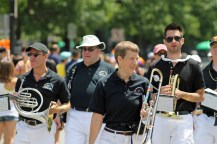 Freedom Trail Band Marchers