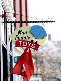 Mud Puddle Toys Sign-Salem