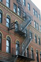 Fire Escape-Downtown Portland