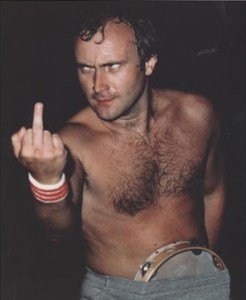 Phil Collins Has A Message For Big Masturbation