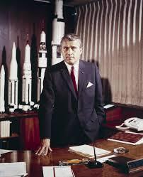 Werner von Braun, builder of riDONK huge rockets.