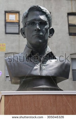 stock-photo-new-york-august-edward-snowden-statue-in-little-italy-during-loman-arts-festival-in-305046326
