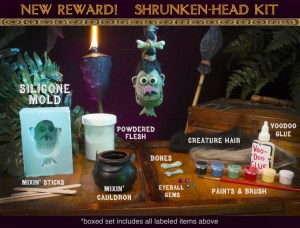 Shrunken Head Kit