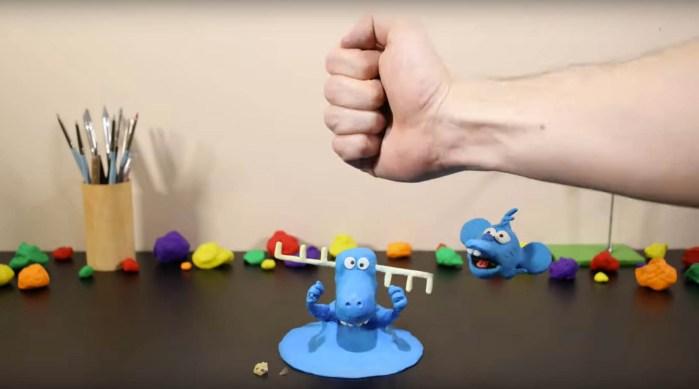 Trent Shy Blue Animation