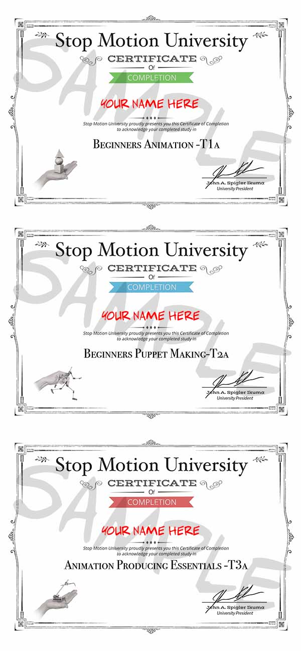 Your Certificates Are Ready!!! T1a T2a T3a