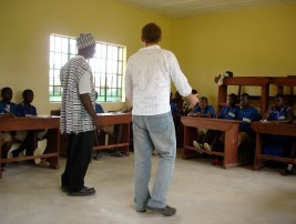 Teaching in Kabala