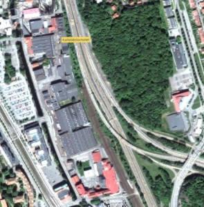 Kaos i tågtrafiken på Västkustbanan utan spår i Almedal