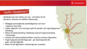 Hur Trafikverk propagerar för Västlänken, och varför det inte stämmer