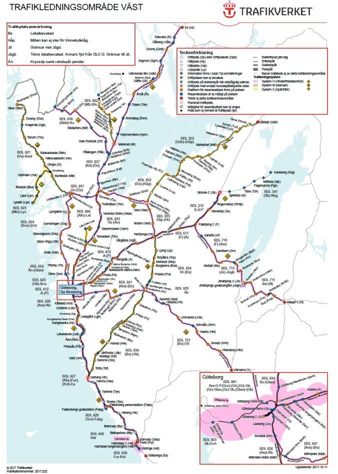 Guide - Västlänken och järnvägarna in mot Göteborg