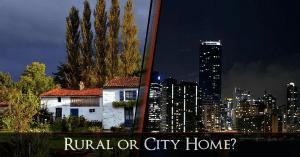 rural or city