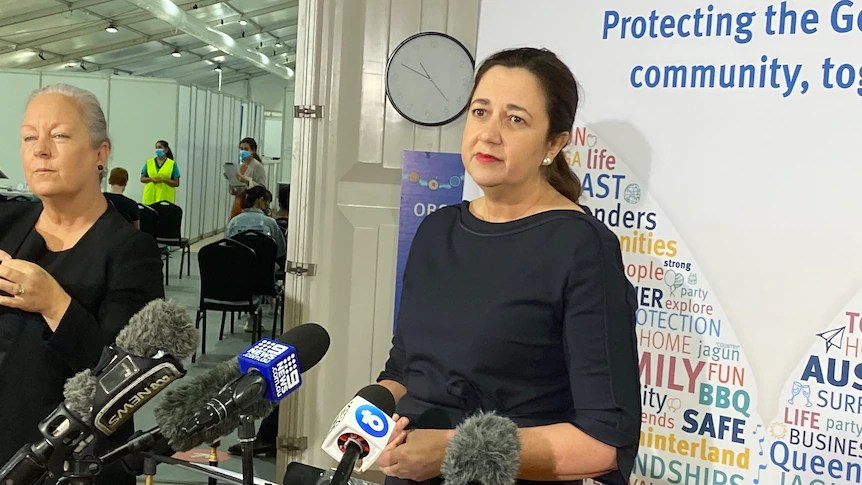 Queensland Premier visits same location as COVID-infected person, reportedly missing them by an hour