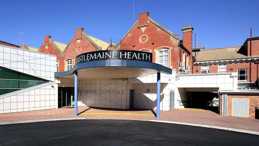 Castlemaine Health hospital, a part modern, part old red brick building in Castlemaine
