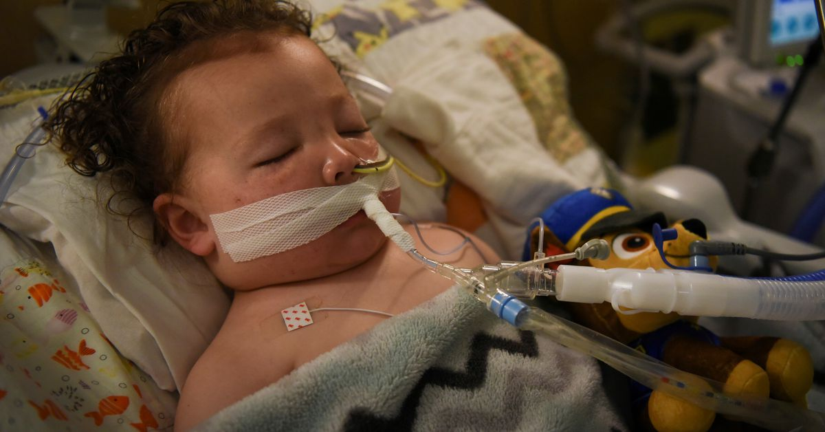 Toddler with COVID-19 home from the hospital