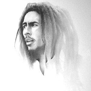 Bob Marley B-W