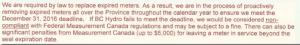 BC Hydro Statement