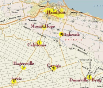Mountain Cablevision serves a small part of Hamilton and surrounding communities in southern Ontario