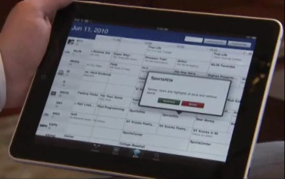time warner cables prototype ipad app - Prototype Ipad App