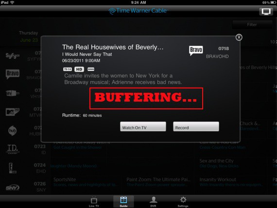 Time Warner Cable App Issues: Time Warner Cable Acnowledges Its iPad App Has 7Aggravating Issues7 ·rh:stopthecap.com,Design