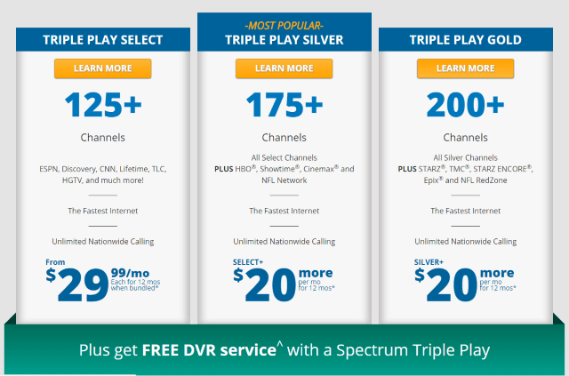 Charter Cable Packages >> How to Get a Better Deal from Charter/Spectrum in 2017