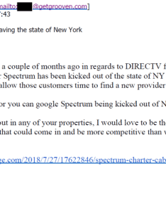 Charter communications to back its claims it is being treated unfairly in new york because regulators have asked the company make preparations also spectrum complains competitors taking advantage of troubles rh stopthecap