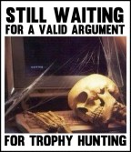 Trophy hunters - Waiting skeleton 05 slumped with webs
