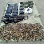 Encuentran armas en escuela de Guerrero