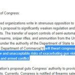 More than 100 Organizations Urge Congress to Reject Proposal to Weaken Gun Export Controls