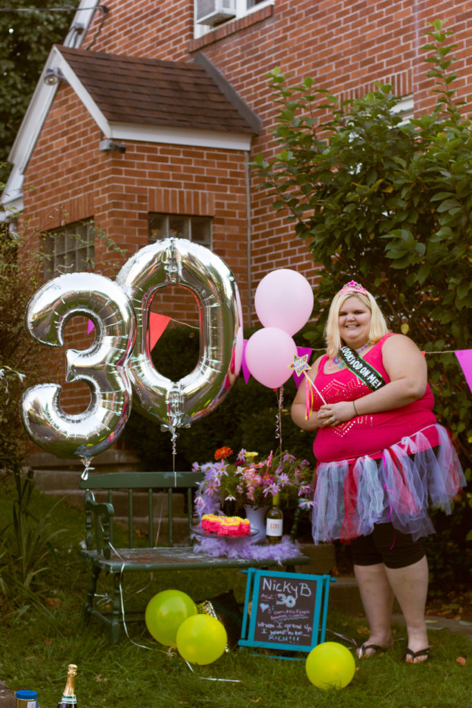 A fun 30th birthday photoshoot I did with my friends. Photo courtesy of L. Roth Photography (www.lrothphotography.com)