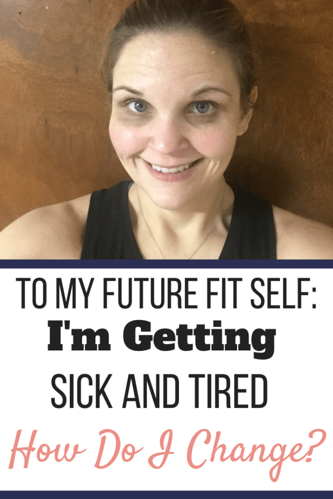 A picture of Nicky Bicksler after losing 235 pounds. | To My Future Fit Self: I'm Getting Sick and Tired | How Do I Change? | Graphic | New me