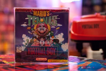 Mario's Tennis - Virtual Boy