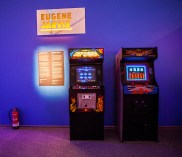 Defender & Robotron Arcades at Game Masters