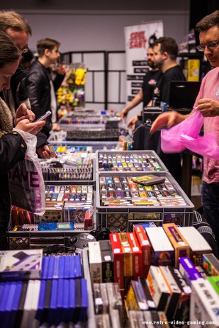 Retro Games for sale at Retro Gathering