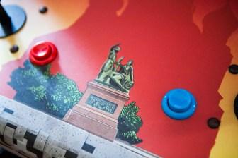 Atari Tetris Arcade buttons