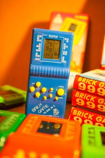 Brick Game 9999 in 1 blue mini super mouse