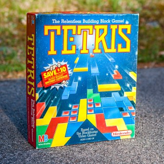 Nintendo MB Tetris board game