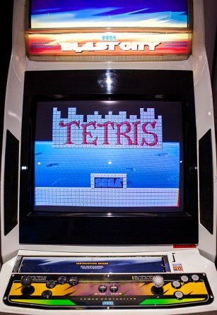 Sega Tetris Arcade played on Blast City