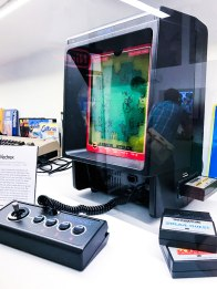 Vectrex on display at Stockholms game museum
