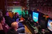 Semi-finals in VS Collection on Super Famicom at Retro Rumble