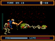 Splatterhouse Part 3 bat smack!