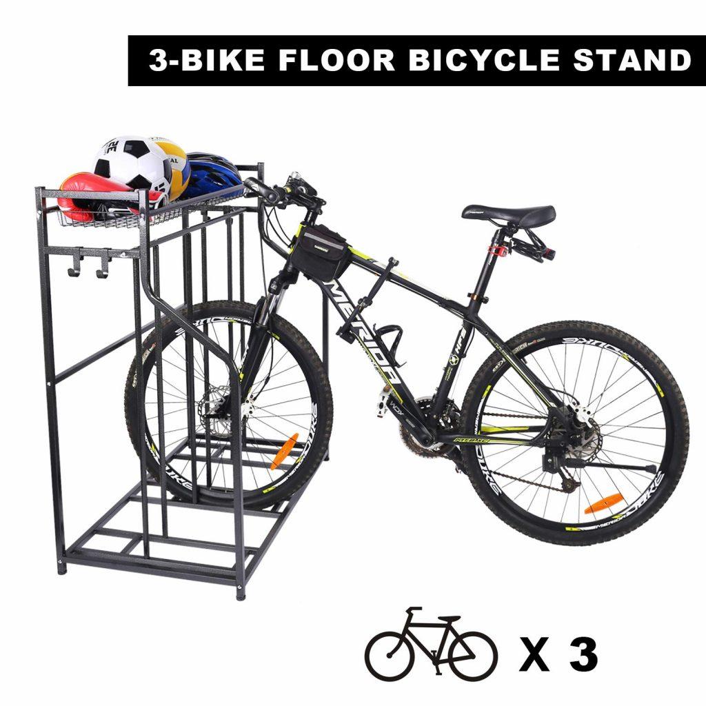 stylish indoor bike rack options