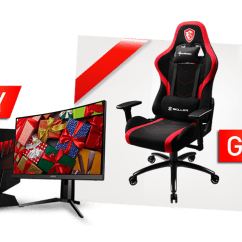 Desktop Gaming Chair Evac Hire Deluxe Christmas Gifts Bundle Msi Monitor Buy Selected And Get