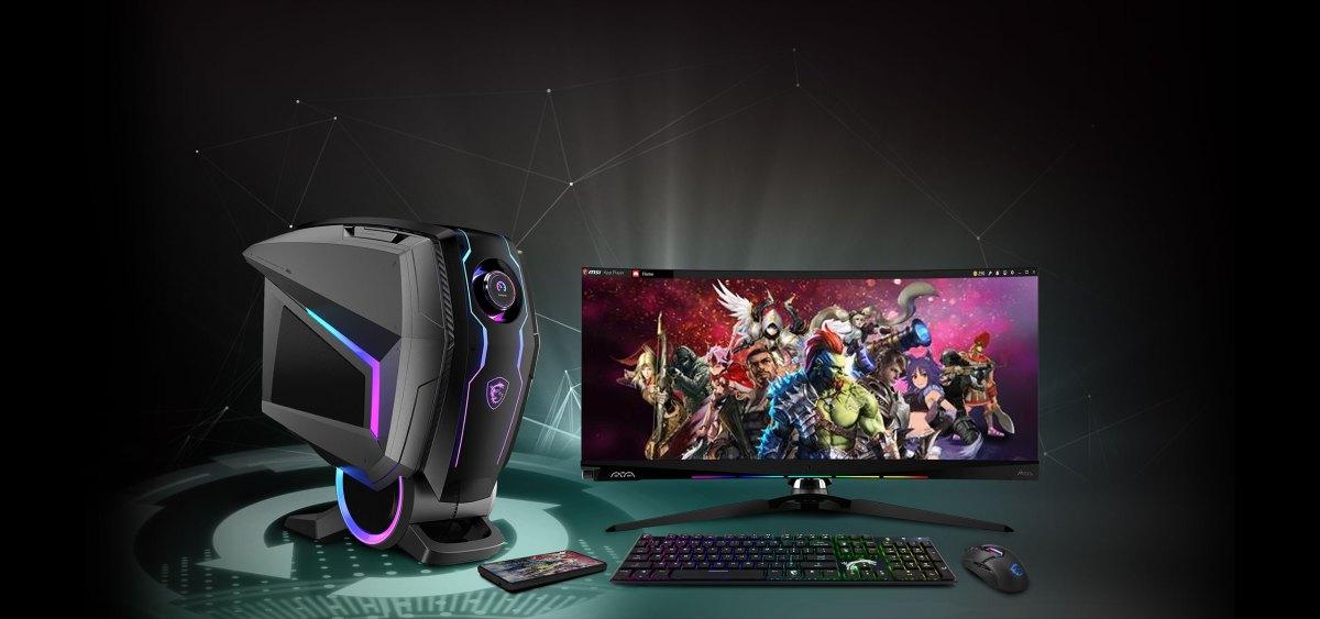 MEG Aegis Ti5- Path to the future | Gaming Desktop Computer | Nvidia Ampere, Intel 10 Gen | MSI