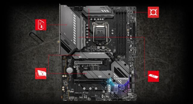 MSI MAG B560 TOMAHAWK WIFI THERMAL overview