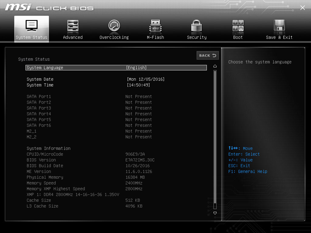 hight resolution of tune your system with click bios