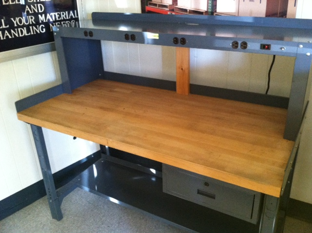 New  Used Workbenches Stanley Vidmar Equipto