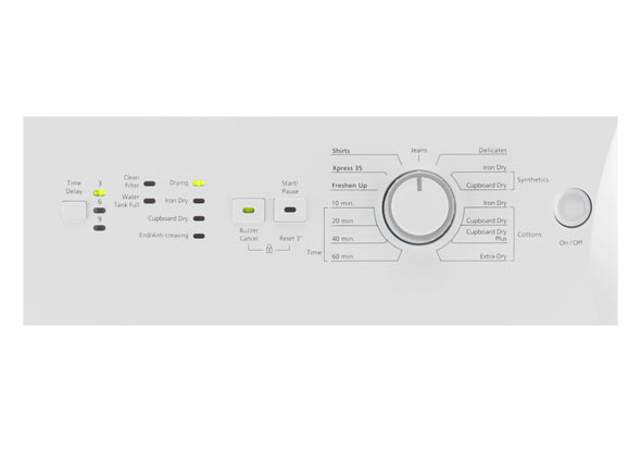 beko oven wiring diagram 3 5 mm to xlr freestanding 7kg condenser tumble dryer dcx71100 uk led indicator lights