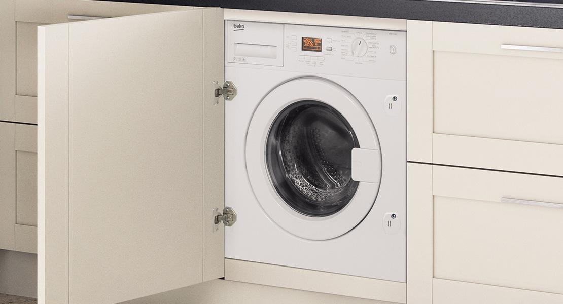Waschmaschine In Küche Integriert | Howdens Kitchen ...